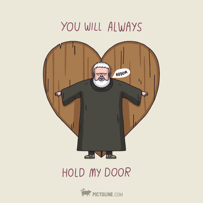 You will always hold my door