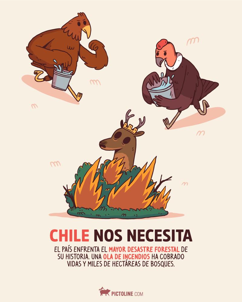 Incendios Forestales Chile 2017