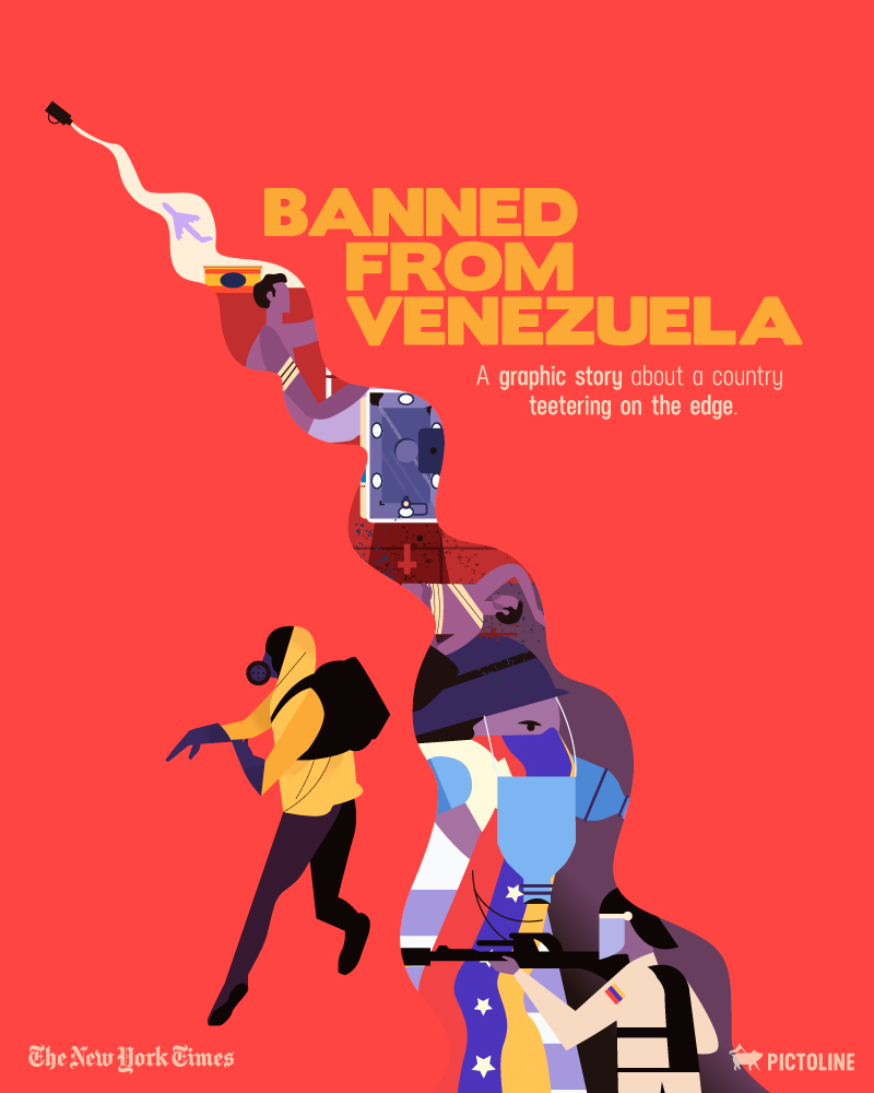 Banned from Venezuela